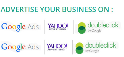 Our certified experts can advertise your business using platforms such as Google Adwords, Yahoo Clicks, etc