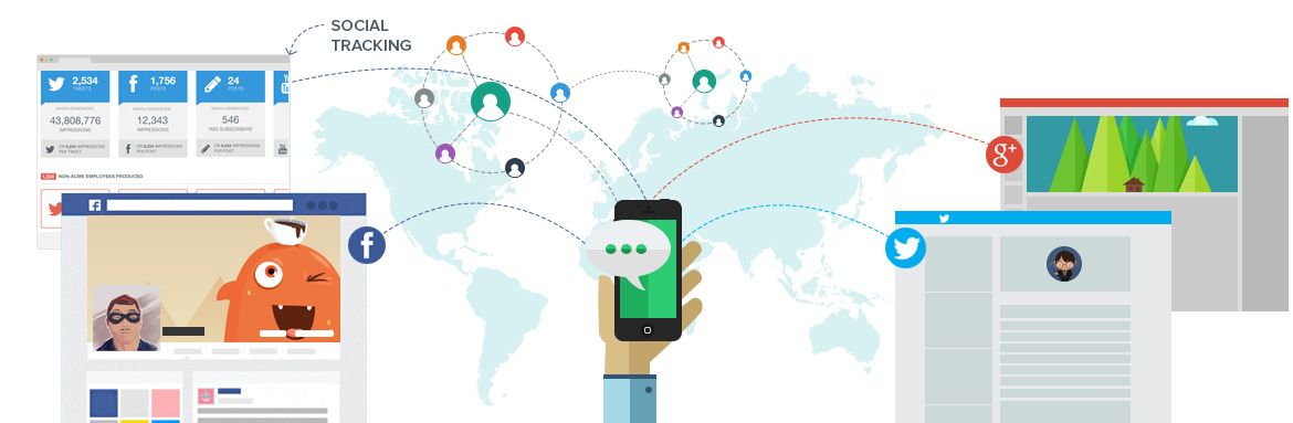 Become popular with Marketingaxle's social media marketing campaigns